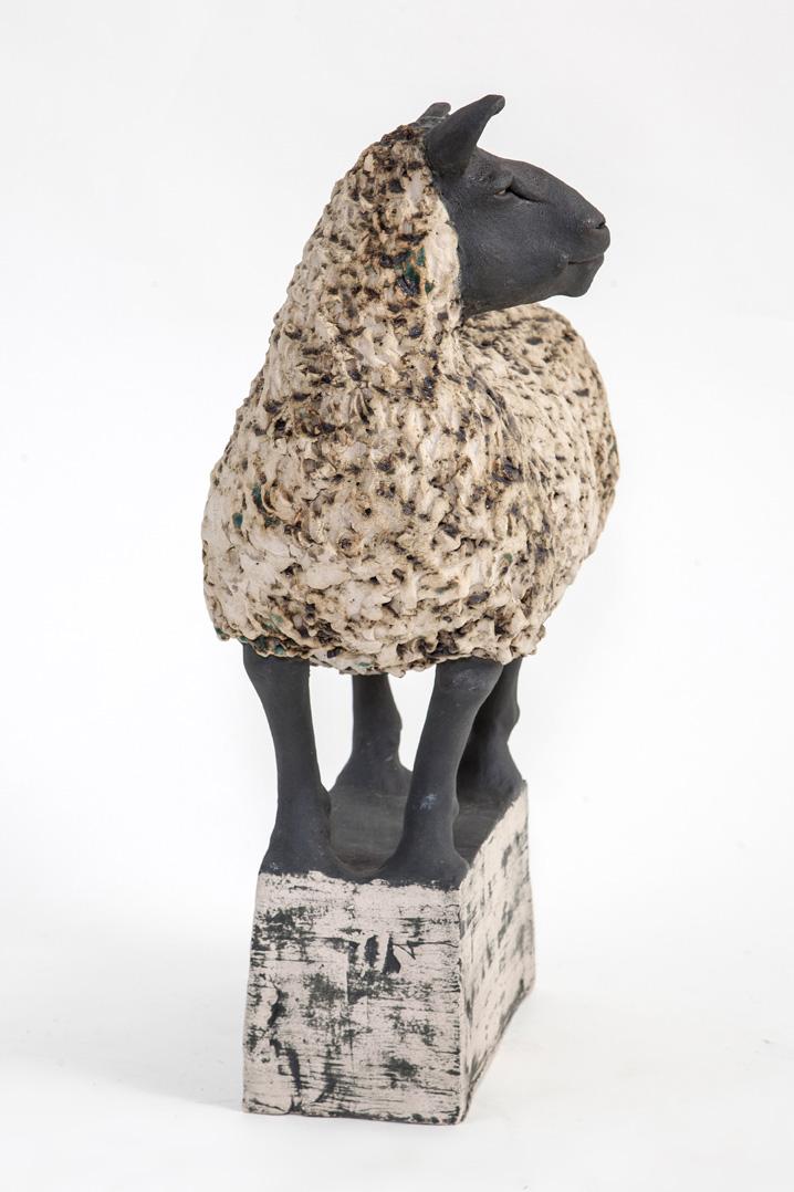 Sheep on Plinth